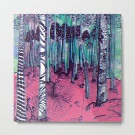 Hunter on Shrooms Metal Print