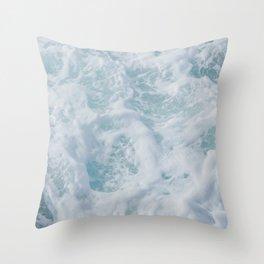 seafoam xii Throw Pillow