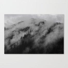 foggy feels Canvas Print