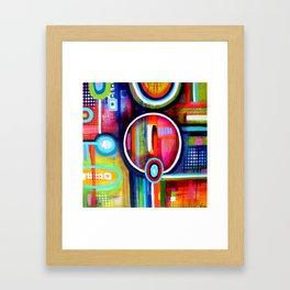 Focus série 'TDAH' Framed Art Print