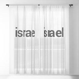 israel Sheer Curtain