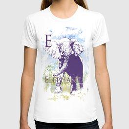 E Elephant T-shirt