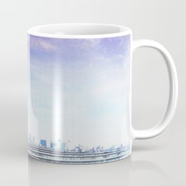 Brooklyn Bridge Blue Coffee Mug