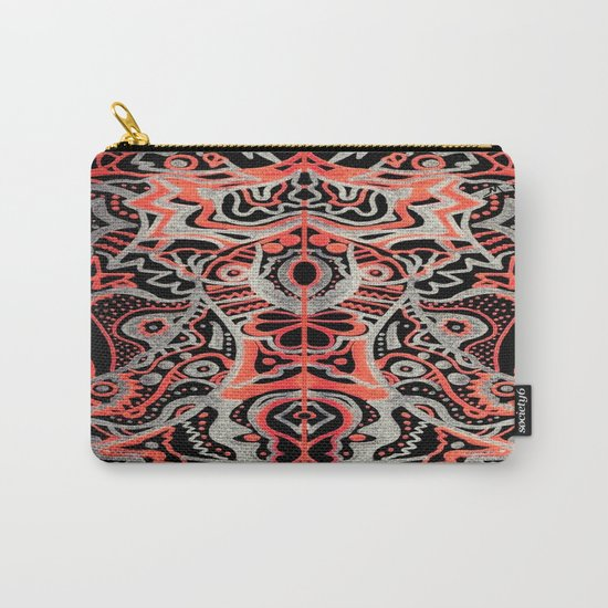 Courage of the Tigress Carry-All Pouch