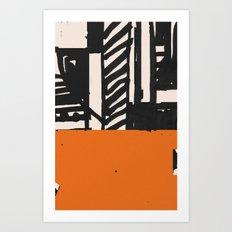 Heute Art Print