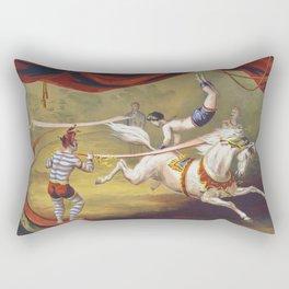 Banner Act - Vintage Circus Art, 1873 Rectangular Pillow