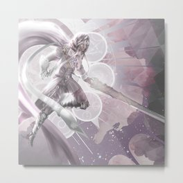 Space hunter Metal Print