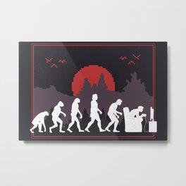 Gaming Evolution Metal Print