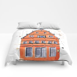 whimsical house in Germany Comforters