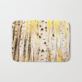 The Trees in Color Bath Mat