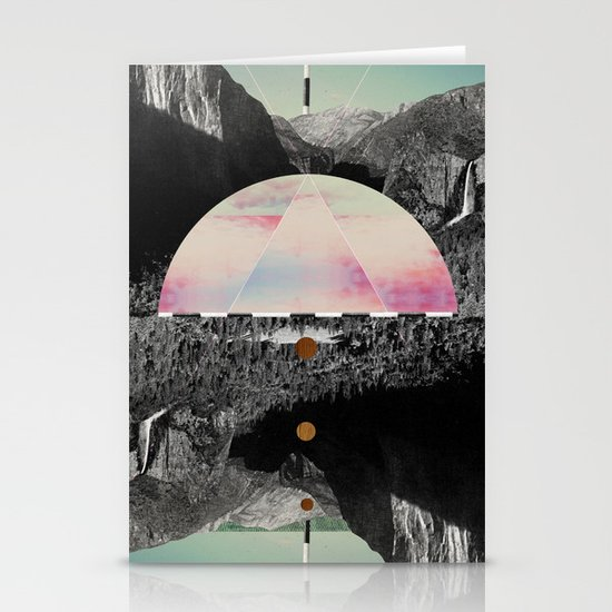 Candy Floss Skies Stationery Cards