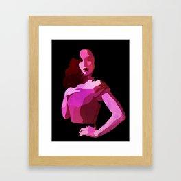 Pilar Framed Art Print
