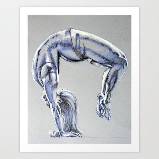 Bend Over Backwards Art Print
