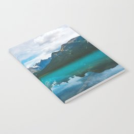 The Mountains and Blue Water - Nature Photography Notebook