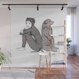 best friends Wall Mural
