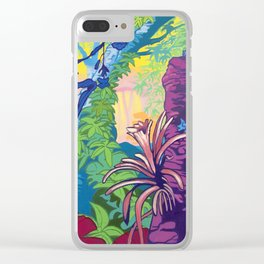 Jungle Clear iPhone Case