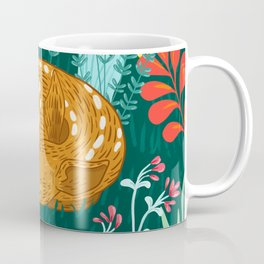 Sleeping Fawn Coffee Mug