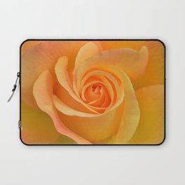 Warm Yellow Rose Laptop Sleeve