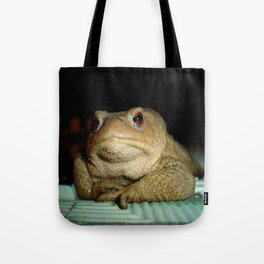 A Common Toad With Philosophical Disposition Tote Bag