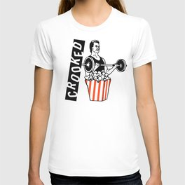 Crooked Popcorn Lifter T-shirt