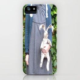 Cozy Bunny iPhone Case