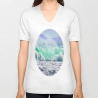 emerald V-neck T-shirts featuring Emerald 2 by CrismanArt