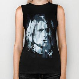 Kurt# Cobain#Nirvana Biker Tank