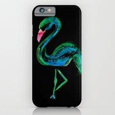 Flamingo black iPhone 6s Slim Case