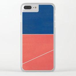 Trapeze Artist 3 Clear iPhone Case