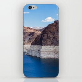 Hoover Dam II / Lake Mead iPhone Skin