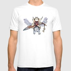 Snow Troll SMALL White Mens Fitted Tee