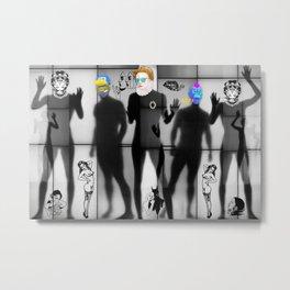 Body Language 75 Metal Print