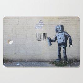 Banksy Robot (Coney Island, NYC) Cutting Board