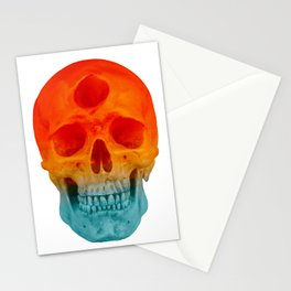 3rd Eye Contact (Orange and Blue) Stationery Cards