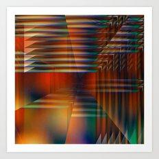 Tensión Art Print