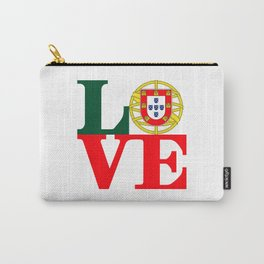 Love Portugal Carry-All Pouch