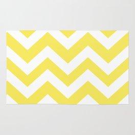 Maize - yellow color - Zigzag Chevron Pattern Rug