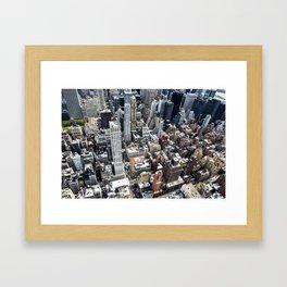 Built up Area Framed Art Print
