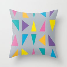 Colorful Corners Throw Pillow