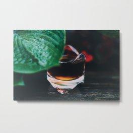 Shot of Espresso Metal Print