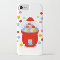 gumball iPhone & iPod Cases featuring Gumball Machine by elledeegee