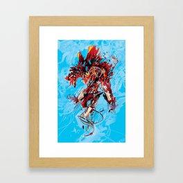 Beastmode Framed Art Print