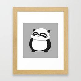 Super Panda Framed Art Print