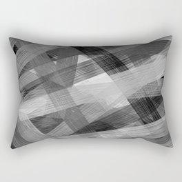 Abstrakt N1BW Rectangular Pillow