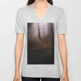 Travelling darkness Unisex V-Neck
