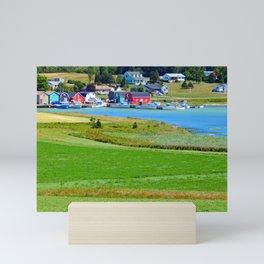 French River Harbour Mini Art Print