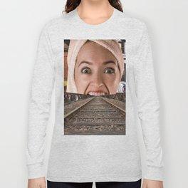 Open Wide Long Sleeve T-shirt