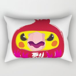 Fire Cockatiel Dharma Doll 2017 Rectangular Pillow