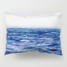 Blue Sea by William Lionel Wyllie Pillow Sham