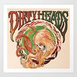DIRTY HEADS ALBUM TOUR 2019 KRIPTON Art Print